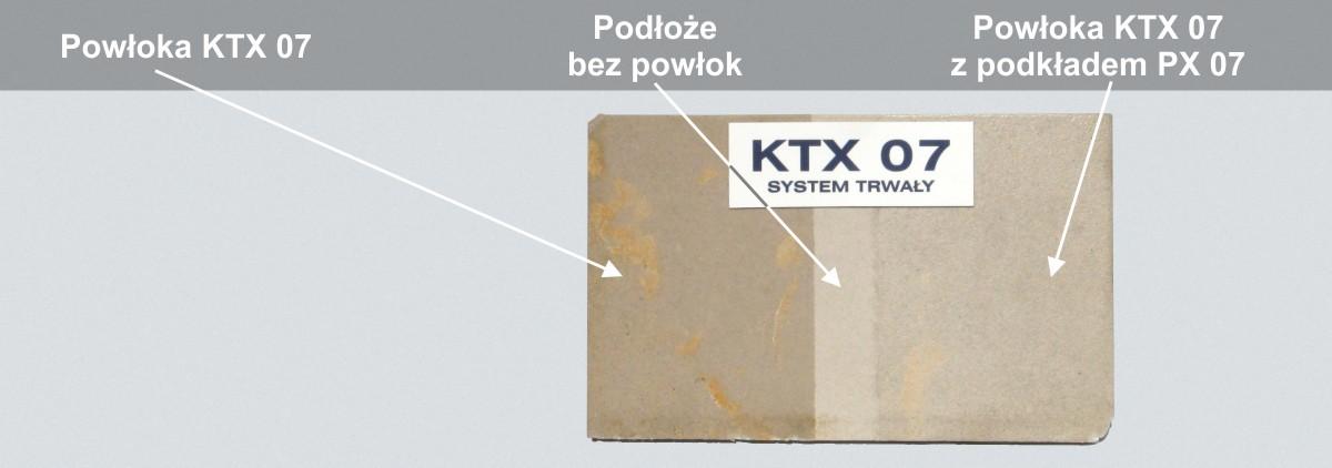 Powłoka KTX 07 na piaskowcu