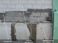 Podkład gruntujący PX 07 na ekranie akustycznym zbliżenie