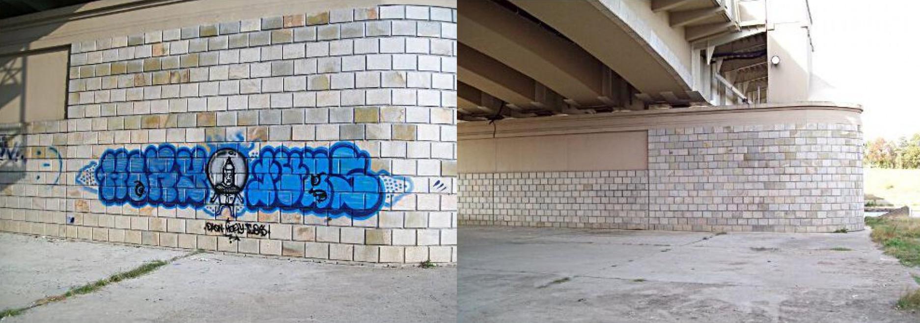 Zmywacze farb graffiti